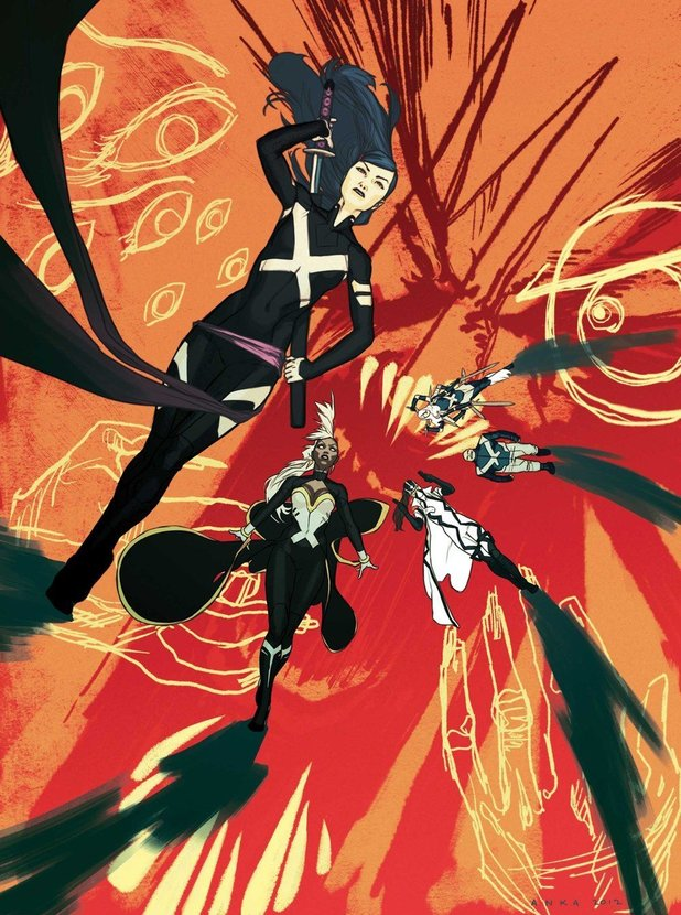 &#39;Uncanny X-Force&#39; #5 cover artwork