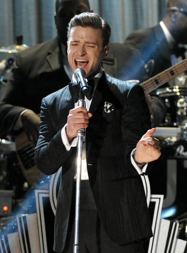 Grammy Awards 2013: Justin Timberlake performs