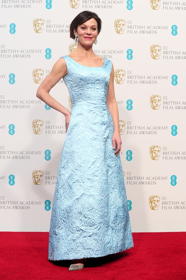 WilliamVintage 1963 Givenchy haute couture gown, Helen McCrory, BAFTAs 2013