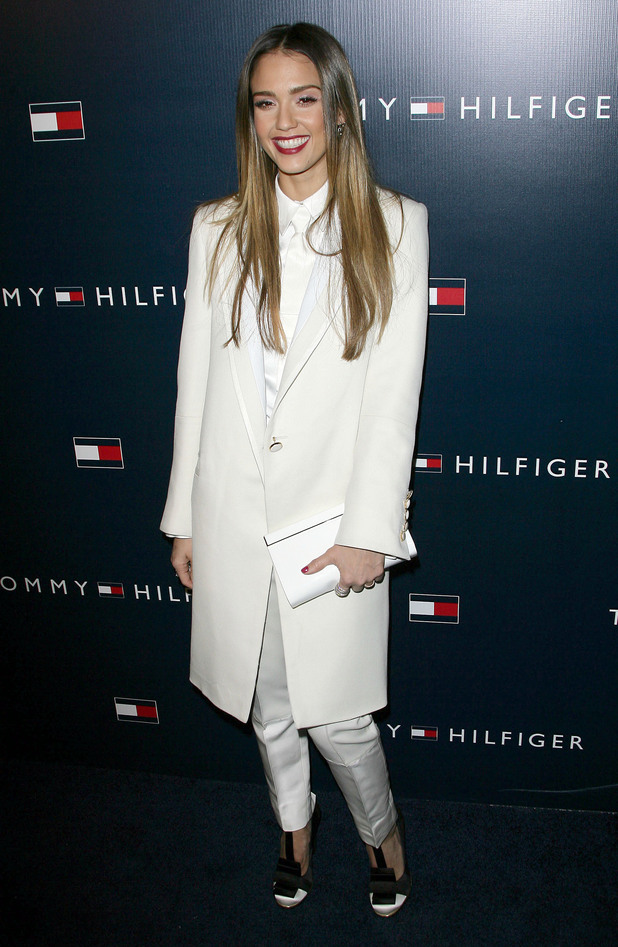 Jessica Alba, opening of the new Tommy Hilfiger West Coast Flagship store