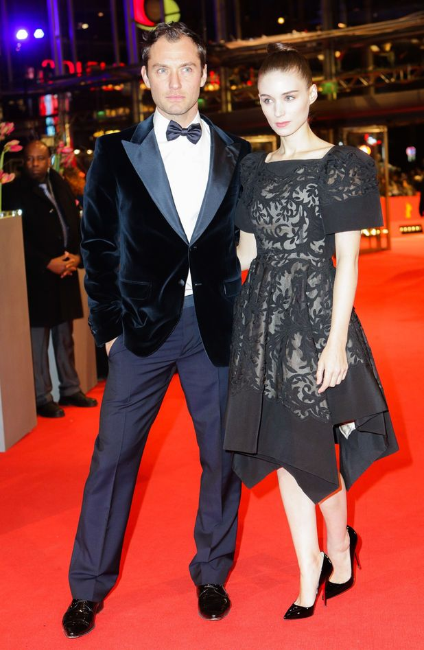 Jude Law and Rooney Mara
