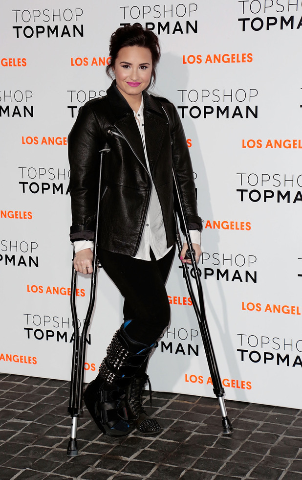 Topshop LA opening party