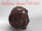 FabCafe lets customers make a 3D scan of their face to use on chocolate.