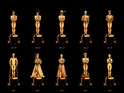 The artist pays homage to 85 years of Academy Awards for 'Best Picture'.