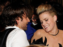 Bradley Cooper flirts with the actress during Weinstein's BAFTA after-party