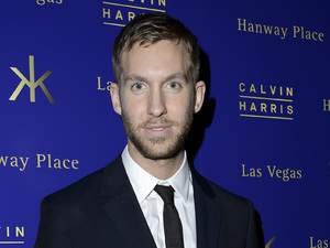 Calvin Harris at Brits Roc Nation after show party