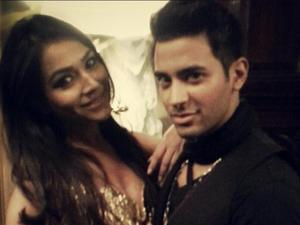 Abbas Hasan and Humaima Malick in London on the sets of video shoot for Abbas's upcoming single!