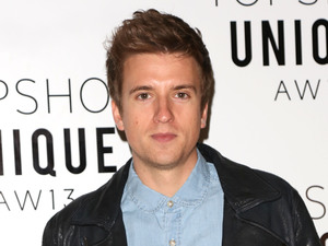 London Fashion Week - Autumn/Winter 2013  - Topshop Unique- Front Row Featuring: Greg James