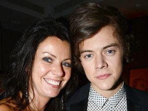 Harry Styles, mum Anne, Sony Brit Award after party 2013, Arts Club