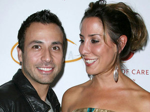 Howie Dorough and wife Leigh Boniello Lupus LA hosts the 2nd Annual 'Get Lucky For Lupus' Event held at the Petersen Automotive Museum Los Angeles, California - 22.09.10 Mandatory Credit: Adriana M. Barraza / WENN.com