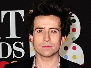 Nick Grimshaw arriving for the 2013 Brit Awards at the O2 Arena, London