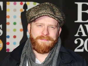 Alex Clare arriving for the 2013 Brit Awards at the O2 Arena, London