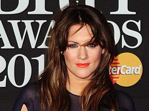 Caroline Flack arriving for the 2013 Brit Awards at the O2 Arena, London