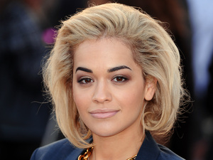 Rita Ora, Burberry Prorsum show, Autumn Winter 2013, London Fashion Week, London, Britain - 18 Feb 2013