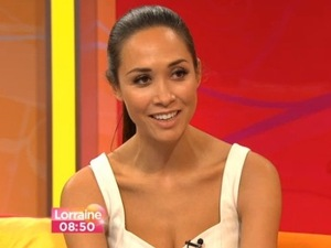 Myleene Klass appears on Daybreak - 18 Feb 2013