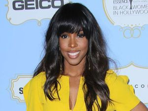 Kelly Rowland arrives at the Annual Essence Black Women in Hollywood luncheon.