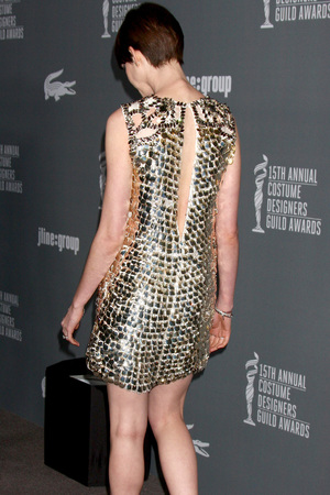 Anne Hathaway, Costume Designers Guild Awards 2013