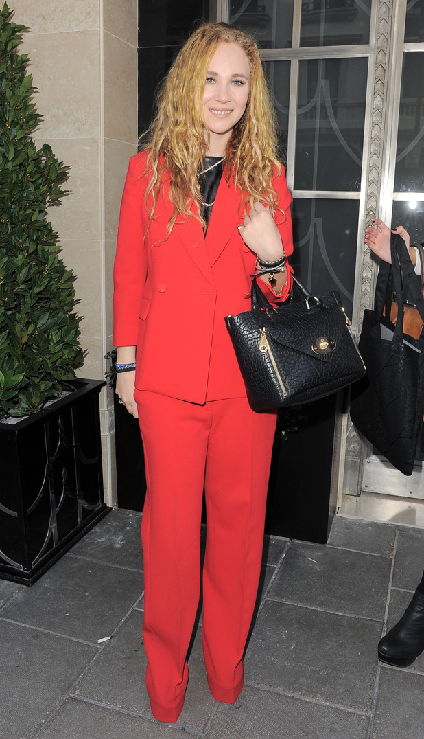 Juno Temple, London Fashion Week 2013, Mulberry