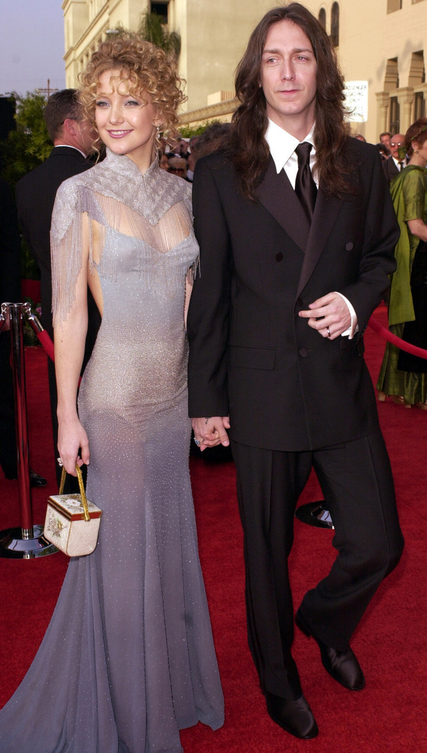 Kate Hudson, Chris Robinson, Oscars 2001
