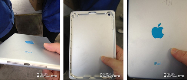 Leaked images supposedly show off parts of a Retina iPad mini