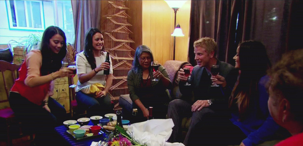 The Bachelor Week 7: Sean and Catherine's family
