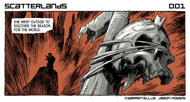 Scatterlands daily strip