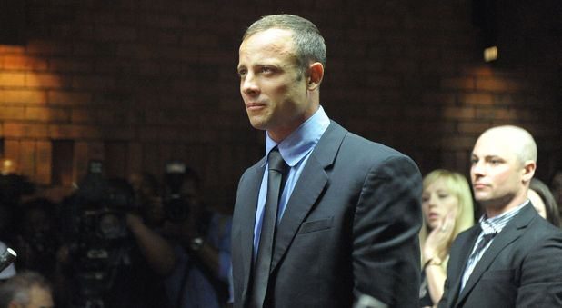 Oscar Pistorius appears at the Pretoria Magistrate Court