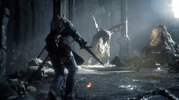 &#39;&#39;Deep Down&#39; trailer screenshot