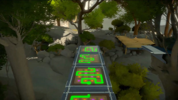 Trailer image of 'The Witness' shown at the PS4 announcement show