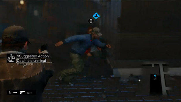 Watch Dogs gameplay for the Playstation 4