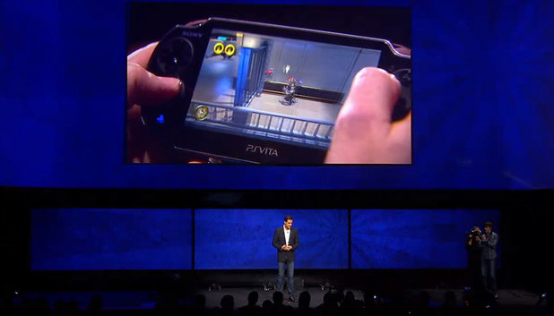 PS4 launch: Mark Cerny shows the integration of PS Vita and PS4