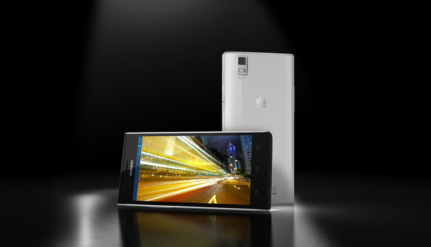 Huawei's smartphone Ascend P2