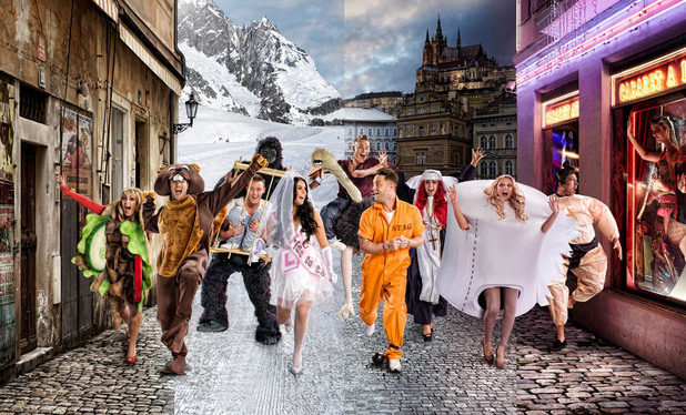 Geordie Shore, stags and hens in Europe, Tue 19 Feb