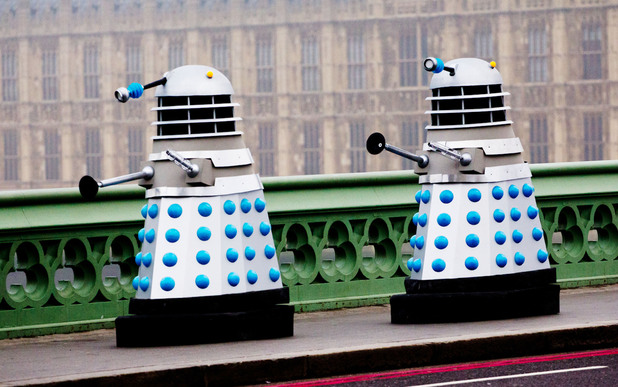 Londoners were treated to Doctor Who filming take place on Westminster Bridge. The scenes featured Daleks for the upcoming 50th anniversary special.