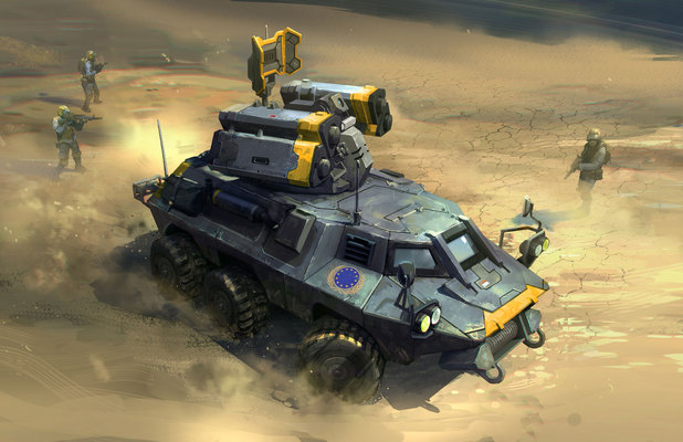 Screenshot from 'Command & Conquer'