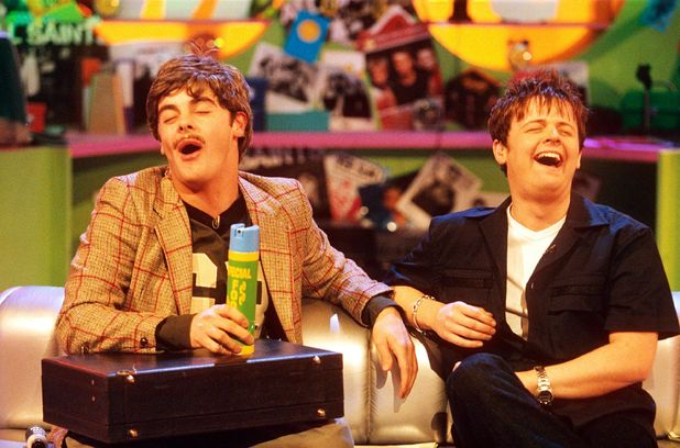 Ant & Dec on SMTV live