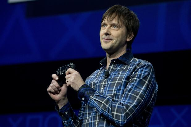 PS4 launch: Mark Cerny, lead system architect for the Sony Playstation 4 speaks during an event to announce the new video game console
