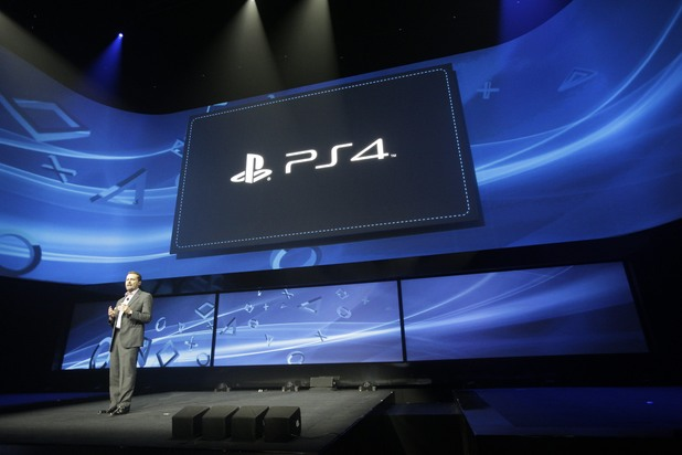 PS4 launch: Andrew House speaks at an event to announce the Sony Playstation 4 Wednesday, Feb. 20, 2013, in New York.
