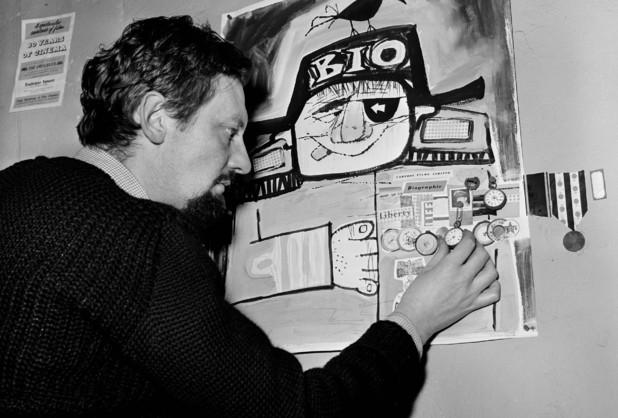 Animator Bob Godfrey