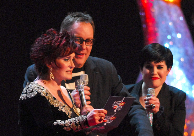 Sharon Osbourne, Vic Reeves, Kelly Osbourne, Brit Awards 2008