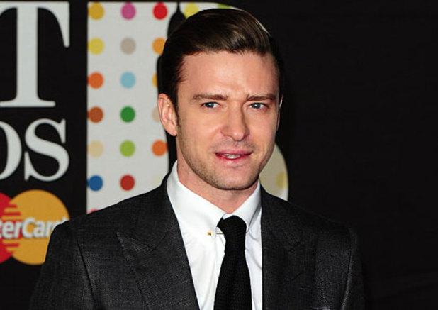 Justin Timberlake at Brits