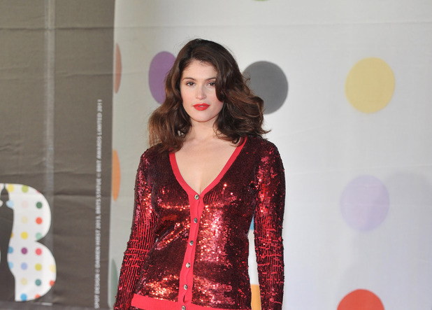 Gemma Arterton, The 2013 Brit Awards (Brits) held at the O2 arena