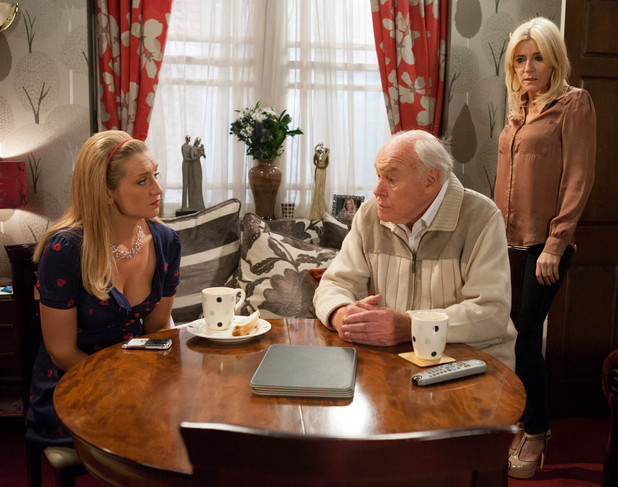 8070: Stella's outraged Eva's considering running off with Gloria's ancient fiancé Eric