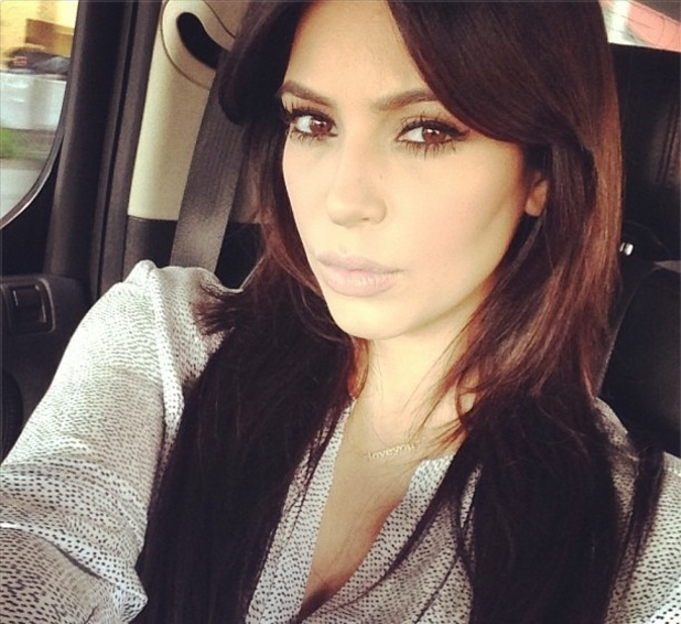 Kim Kardashian tweets picture en route to Nigeria