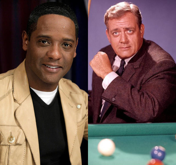 Blair Underwood and Raymond Burr