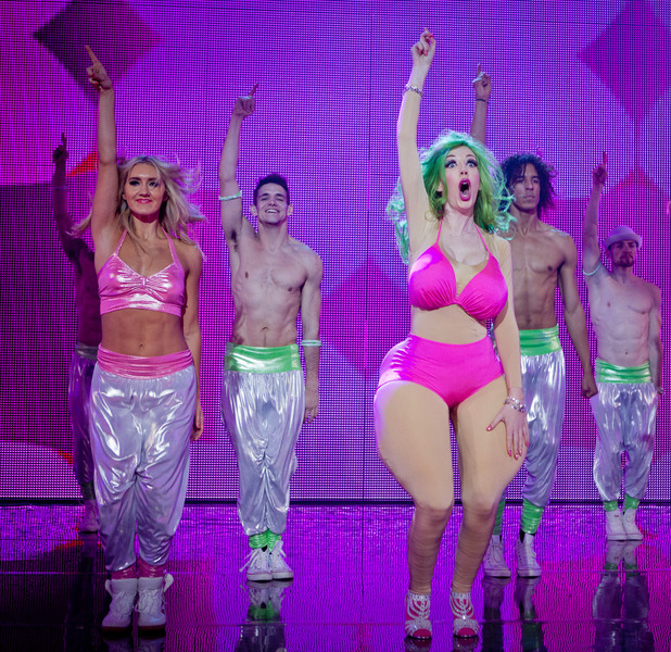 Katherine Ryan as Nicki Minaj in Let's Dance for Comic Relief
