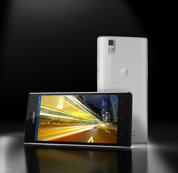 Huawei&#39;s smartphone Ascend P2 