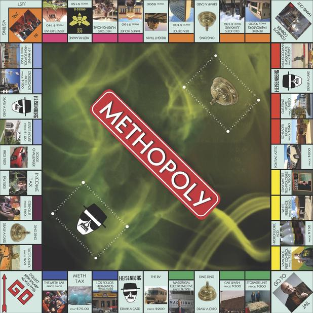 Methopoly board