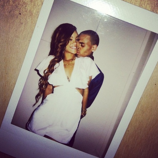 Rihanna and Chris Brown celebrate her 25th birthday in Hawaii