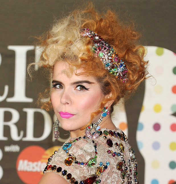 Paloma Faith, The Brit Awards, Arrivals, O2 Arena, London, Britain - 20 Feb 2013